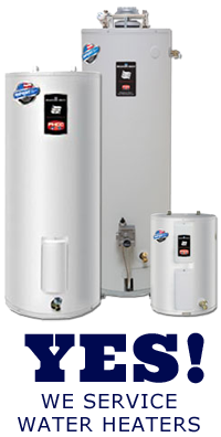 We repair, replace, and maintain water heaters in Sunnyvale California